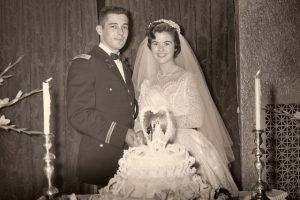 Wedding Ceremony February 2nd, 1957