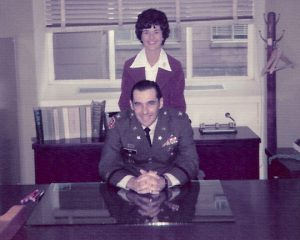 Eugene Fox's promotion to Colonel November 4th, 1975
