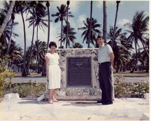 RoiNamur Airfield dedication in 1986
