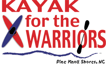 Kayak for the Warriors logo