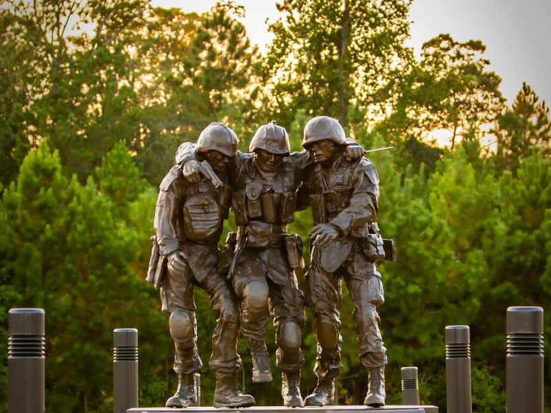 No Man Left Behind Statue, Camp Lejeune, NC