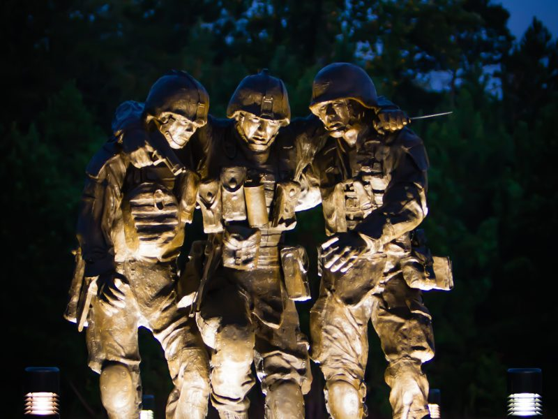 No Man Left Behind Statue, Camp Lejeune, NC