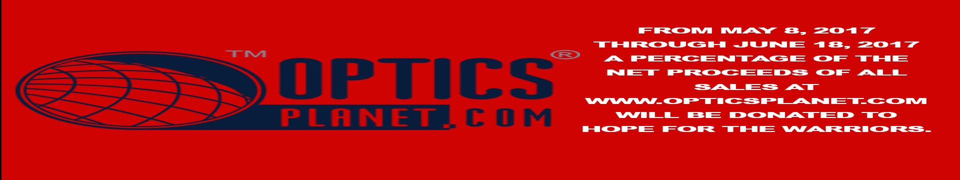 Optics Planet Promo