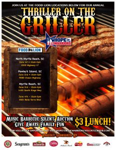 Thiller on the Griller Store 1047 @ Food Lion Store 1047