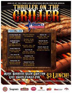 Thriller On The Griller Food Lion #2553 @ Food Lion #2553