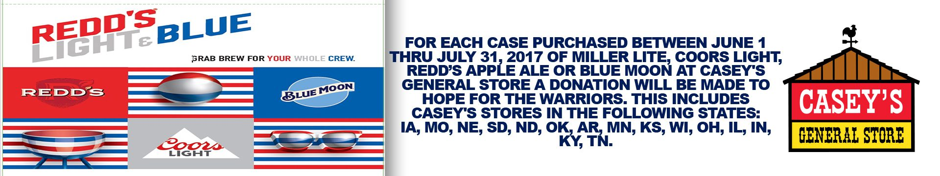 MillerCoors Promotion Casey's