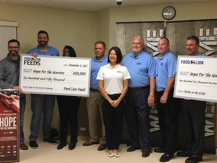 Food Lion Feeds Partners With Hope For The Warriors To Nourish Local