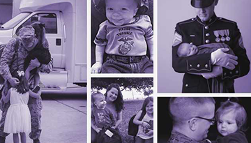 military child featured