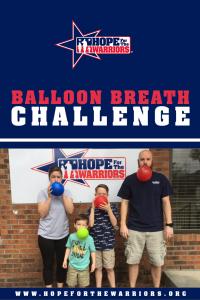 Balloon breath challenge
