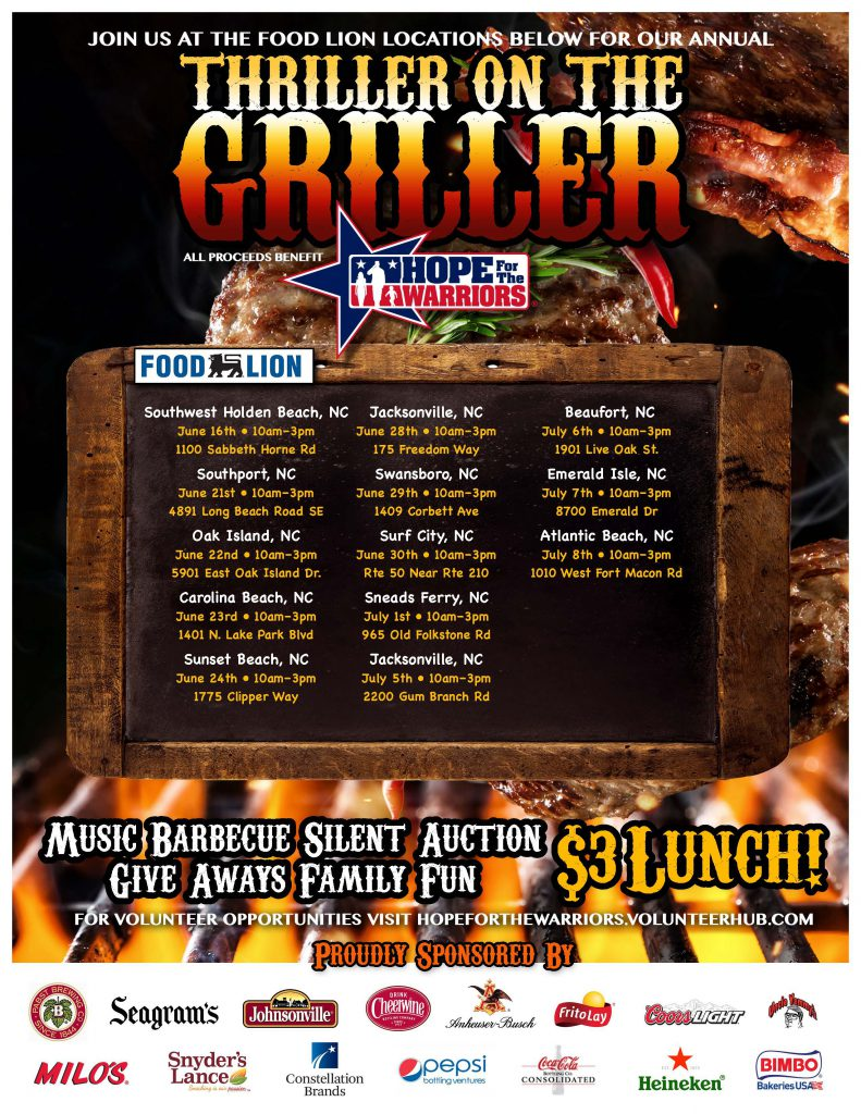 Thriller on the Griller - Southwest Holden Beach, NC @ Food Lion