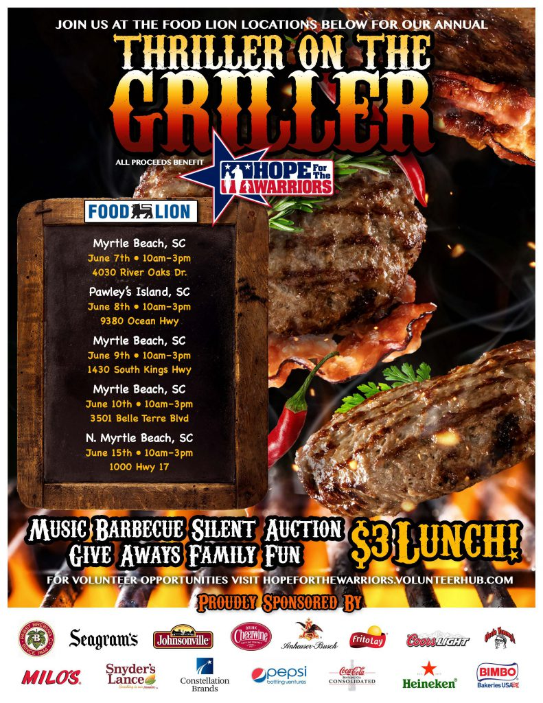 Thriller on the Griller - Myrtle Beach, SC @ Food Lion