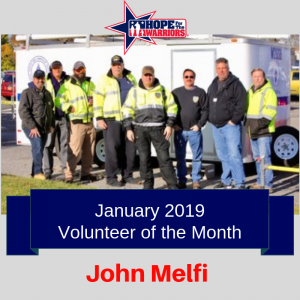 January Volunteer of the Month