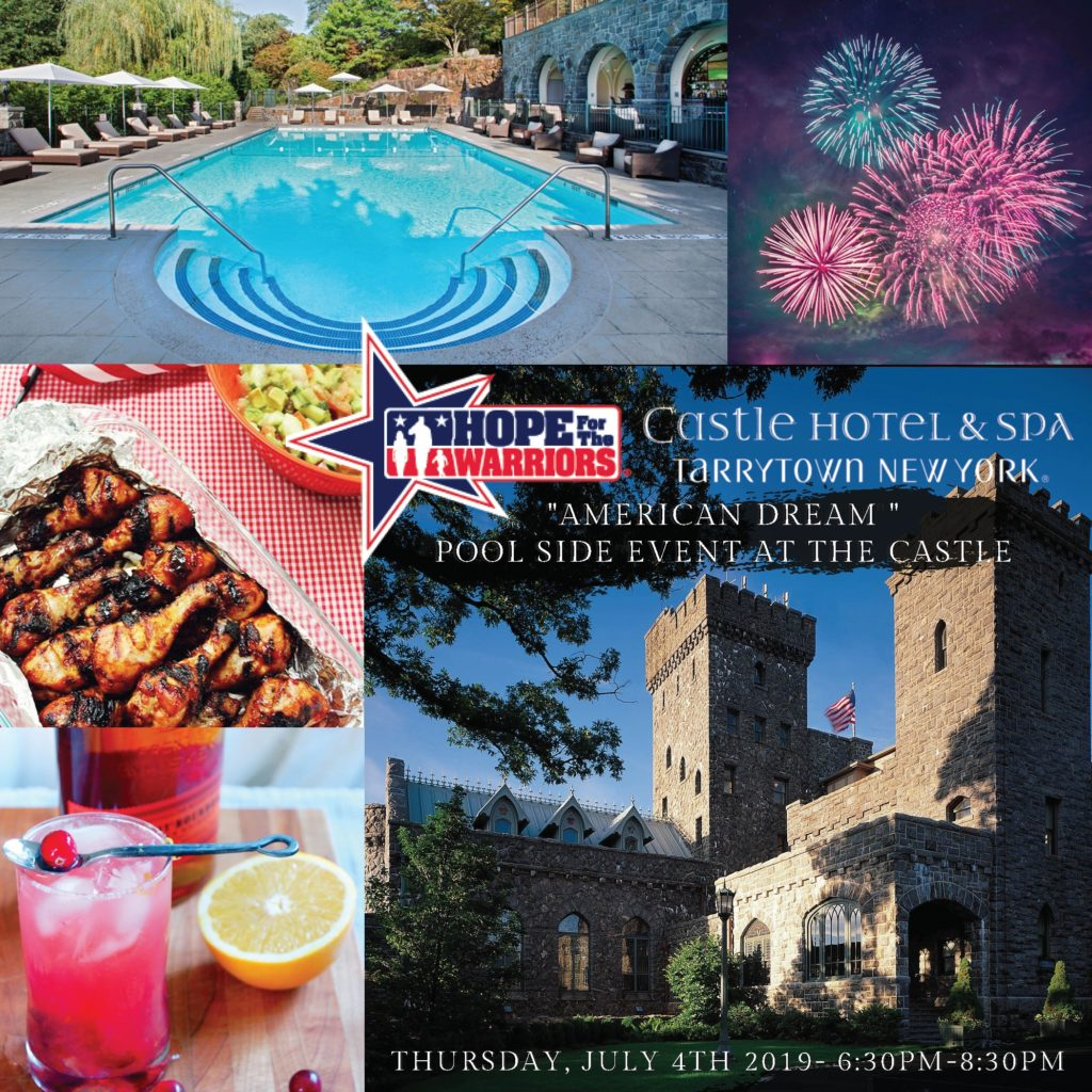 Castle Hotel & Spa Poolside Pairing Events @ Castle Hotel & Spa - The Pool & The Grotto Bar