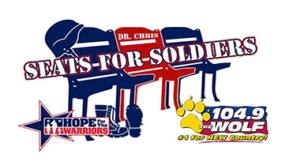 Seats For Soldiers @ Dozer Park