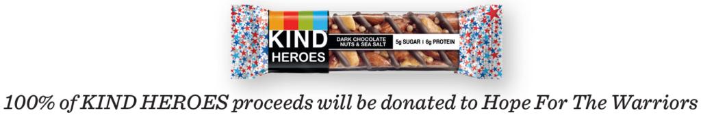 KIND HEROES bar