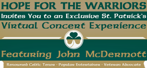 Virtual St. Patrick's Day Concert Featuring Celtic Tenor John McDermott